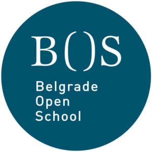 logo of Belgrade open school