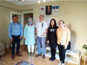 Group photo of Turkey Beyazay Association and Redvet members